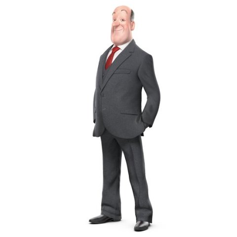Jeeves' new 3D design currently displayed on the UK Ask search